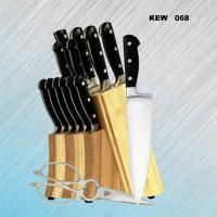15-pc Kitchen Knife Set | Classic | POM