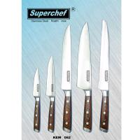 5-pc Kitchen Knife Set | Forged Triple Rivet Pakka Handle