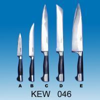 5-pc Kitchen Knife Set | Synthetic Handle with Steel Cap